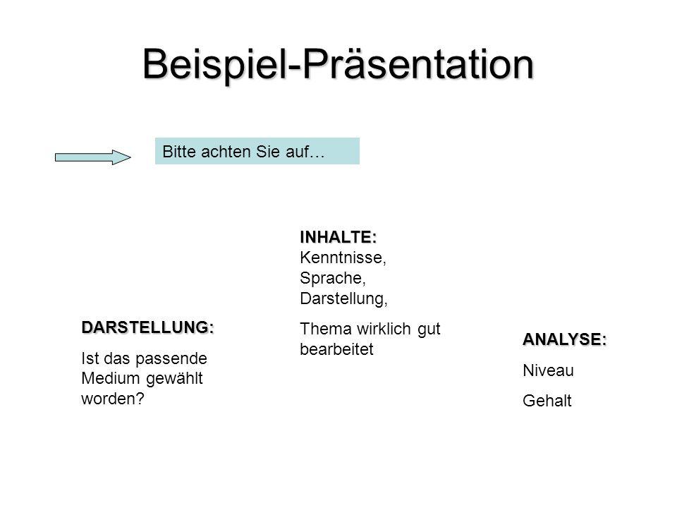 Beispiel-Präsentation