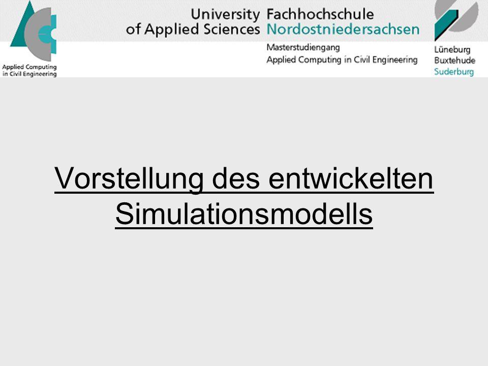 Vorstellung des entwickelten Simulationsmodells