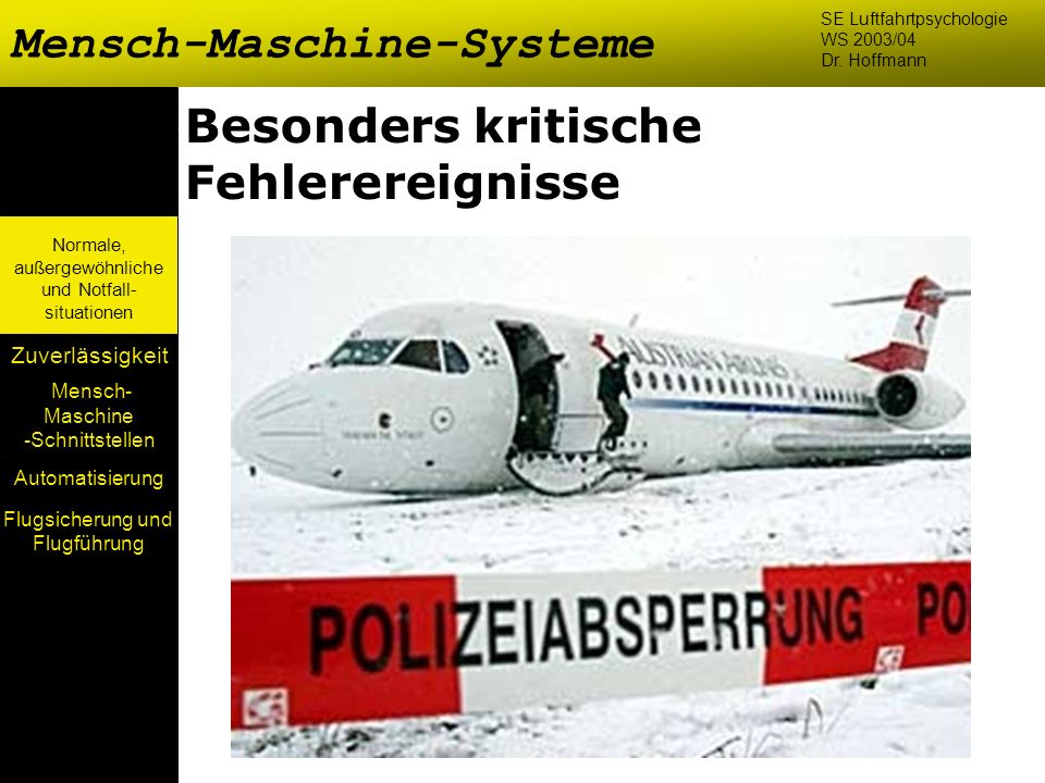 Flugsicherung und Flugführung