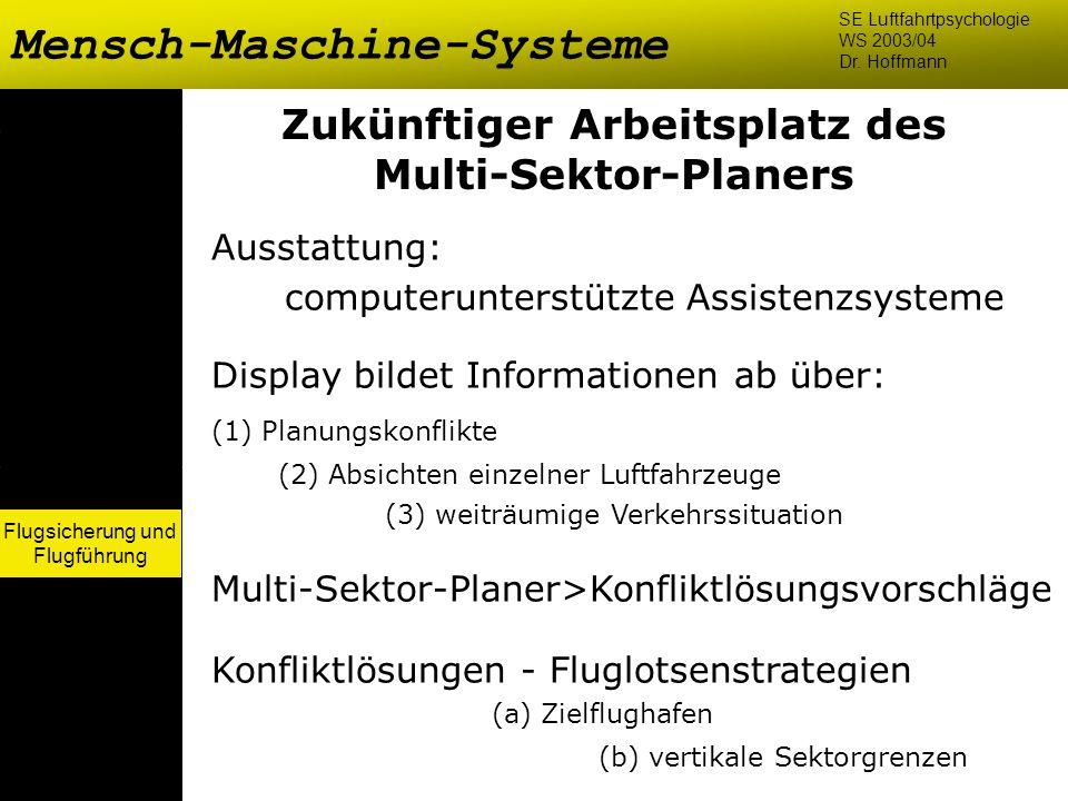 Zukünftiger Arbeitsplatz des Multi-Sektor-Planers