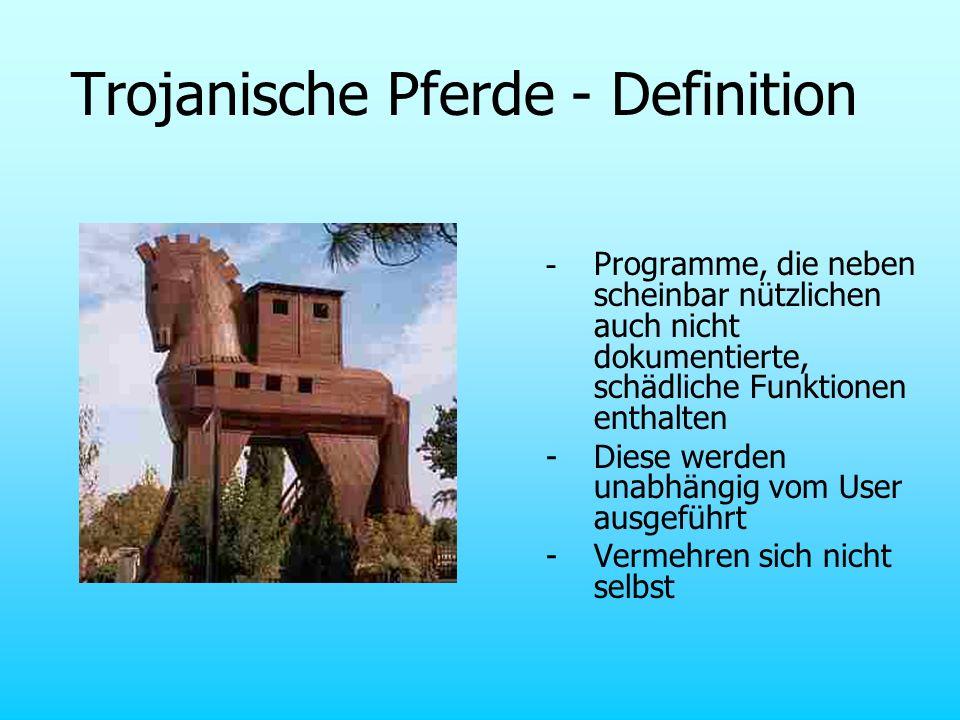 Trojanische Pferde - Definition