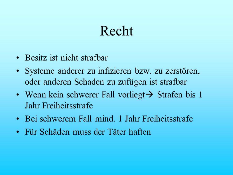 Viren Würmer & Trojaner by JOSI & HOLGER