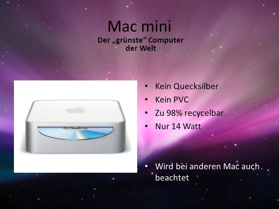 """Der """"grünste Computer der Welt"""