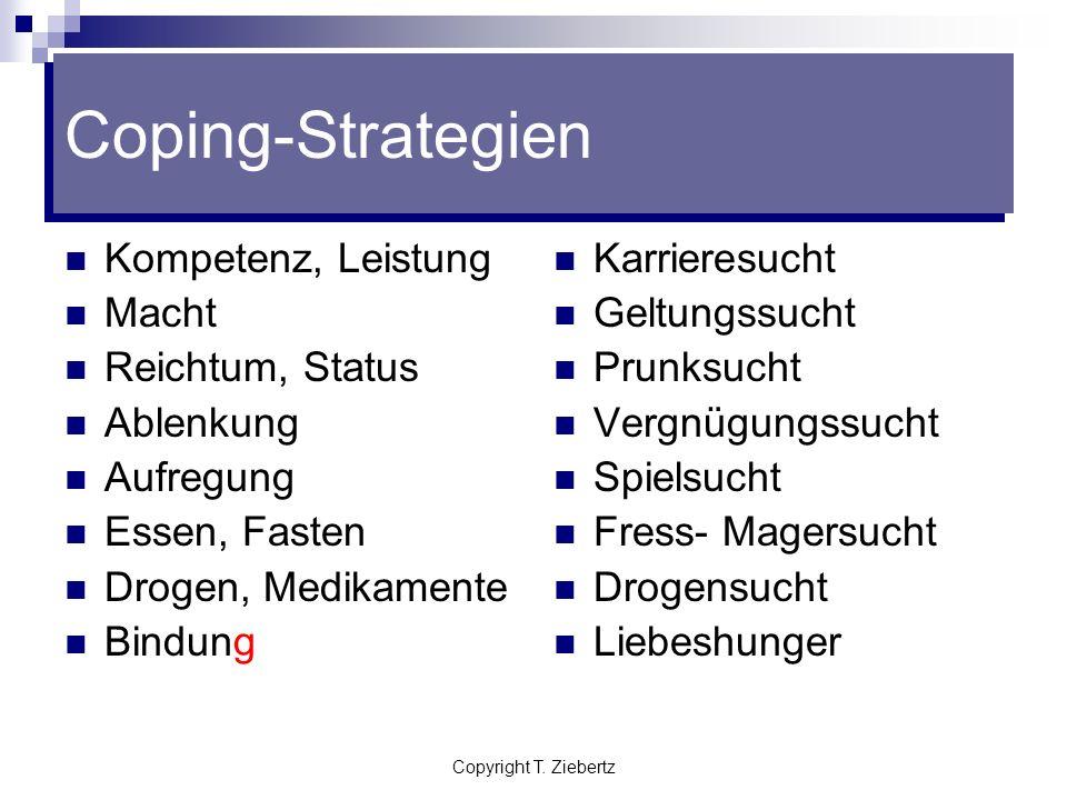 Coping-Strategien Kompetenz, Leistung Macht Reichtum, Status Ablenkung