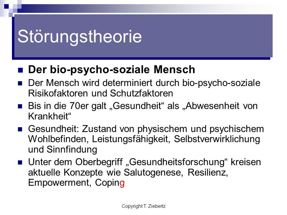 Störungstheorie Der bio-psycho-soziale Mensch