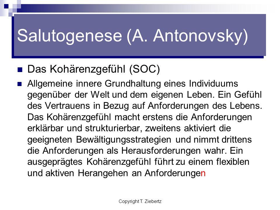 Salutogenese (A. Antonovsky)