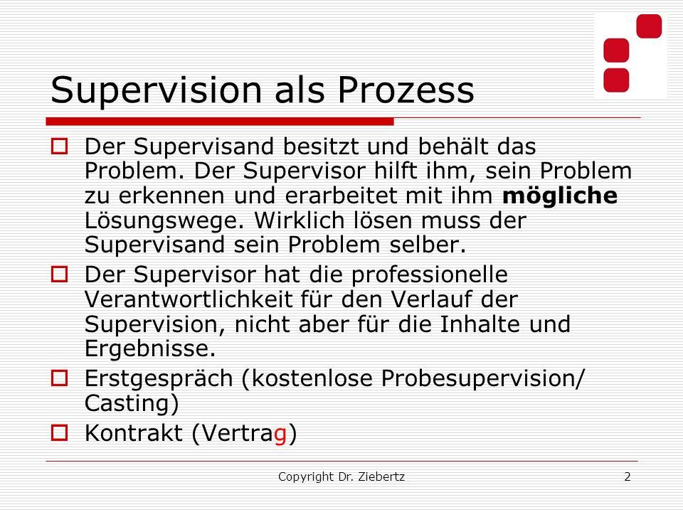 Supervision als Prozess