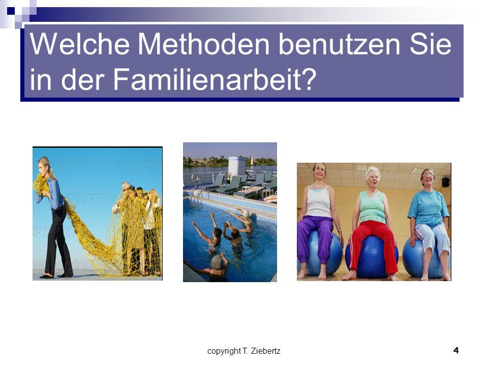 Welche Methoden benutzen Sie in der Familienarbeit