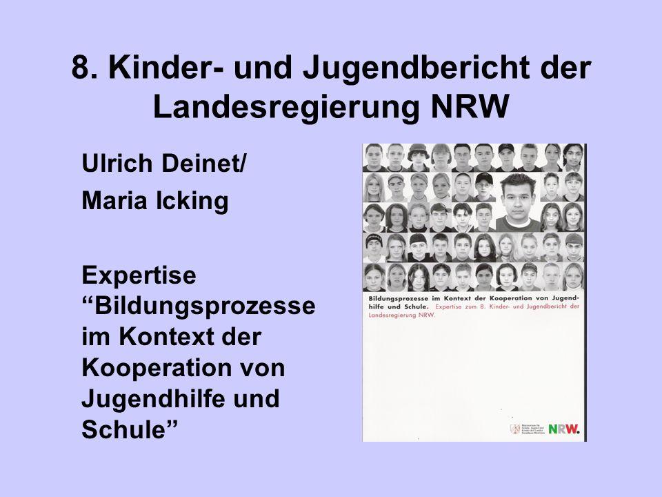 8. Kinder- und Jugendbericht der Landesregierung NRW