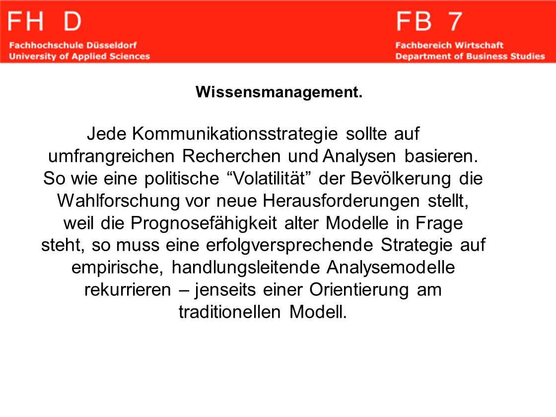 Wissensmanagement.