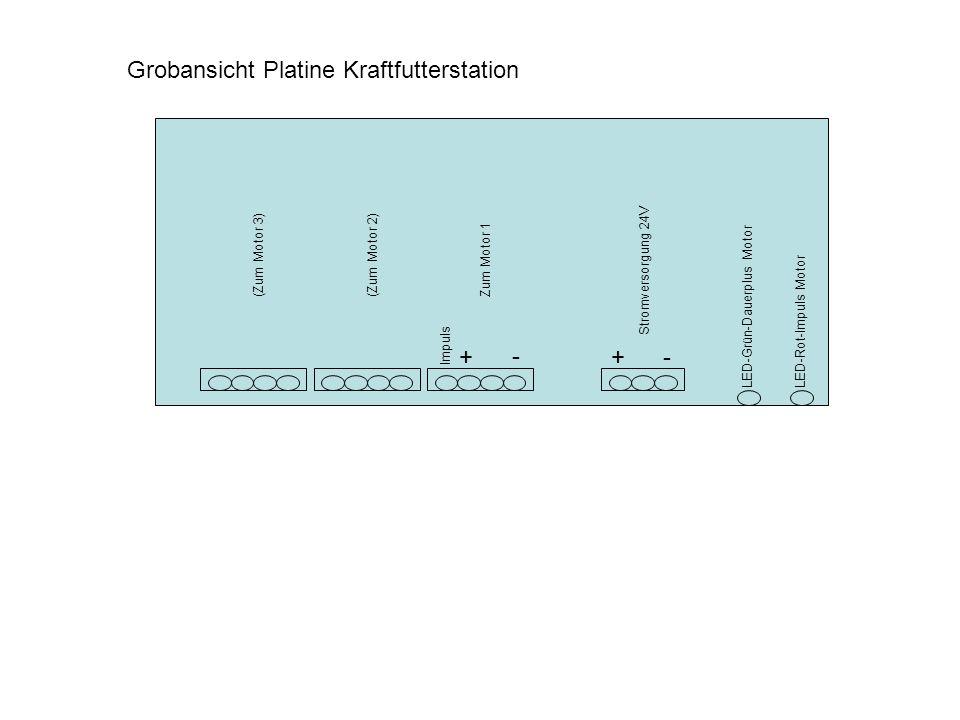 Grobansicht Platine Kraftfutterstation