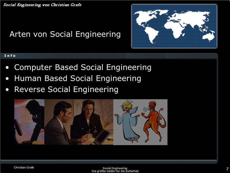 Arten von Social Engineering