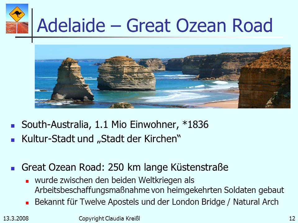 Adelaide – Great Ozean Road