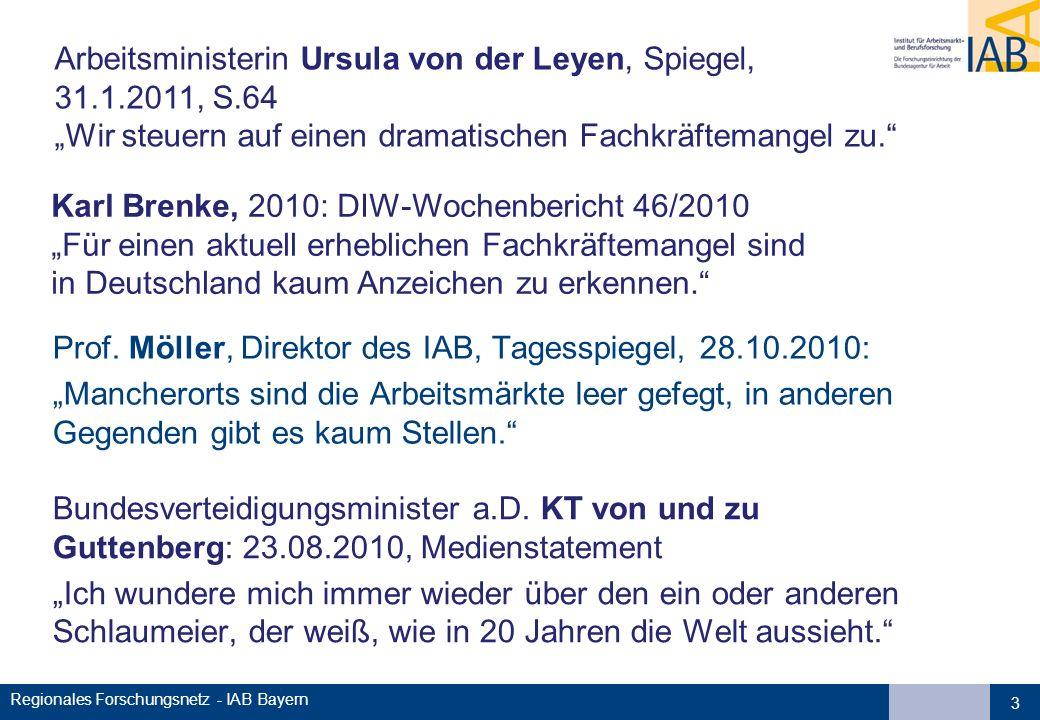 Arbeitsministerin Ursula von der Leyen, Spiegel, 31.1.2011, S.64