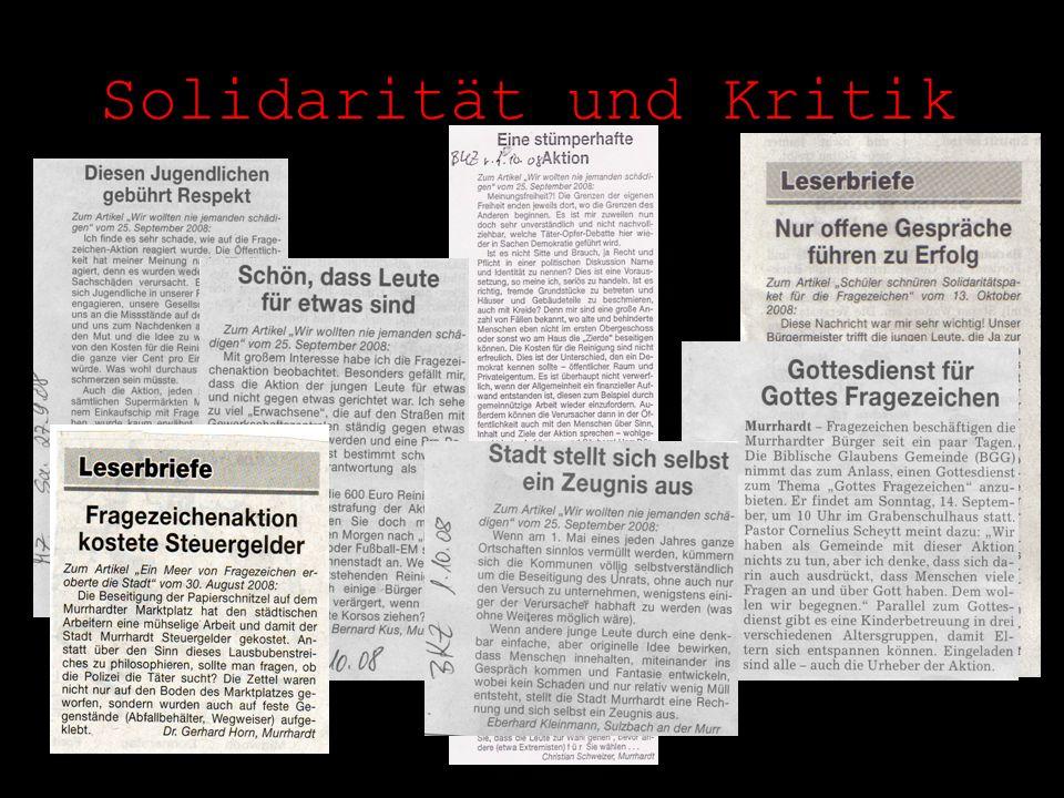 Solidarität und Kritik