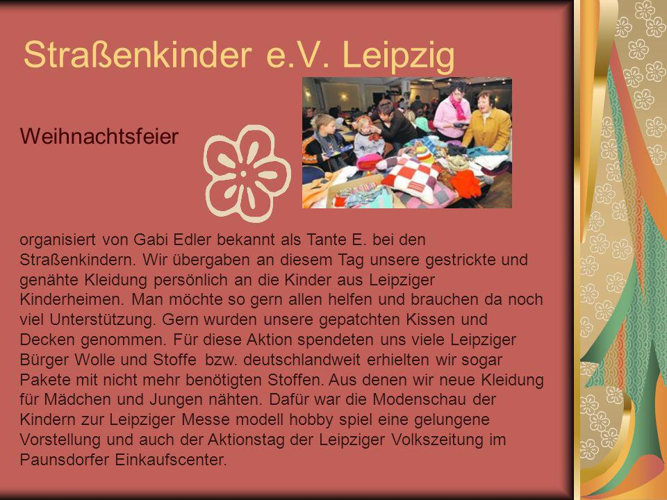 Straßenkinder e.V. Leipzig