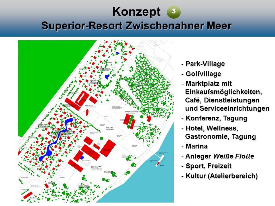 Konzept Superior-Resort Zwischenahner Meer