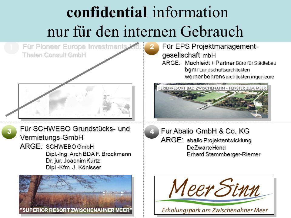 confidential information nur für den internen Gebrauch