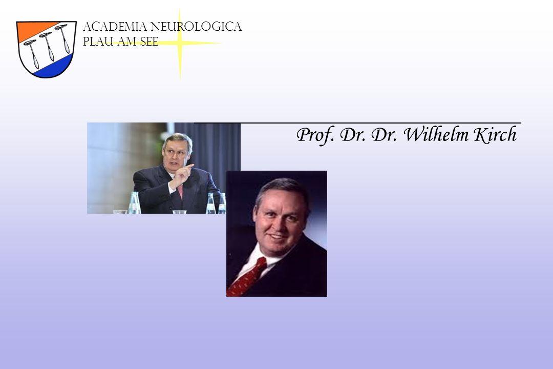 Prof. Dr. Dr. Wilhelm Kirch