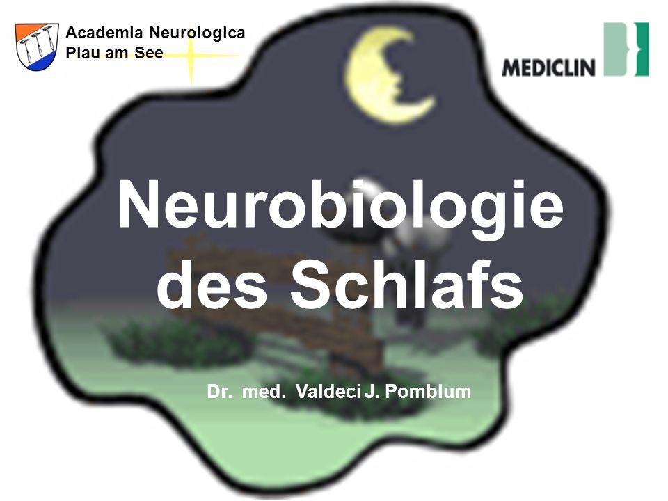 Neurobiologie des Schlafs Dr. med. Valdeci J. Pomblum
