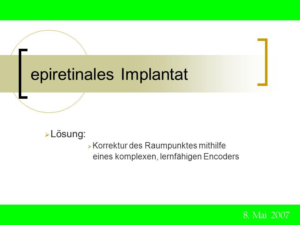 epiretinales Implantat