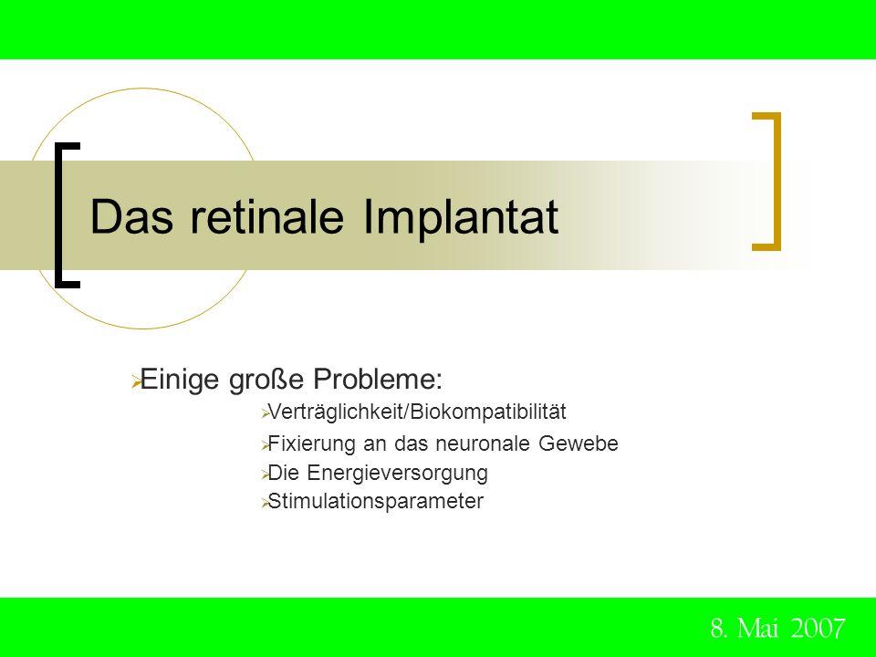 Das retinale Implantat
