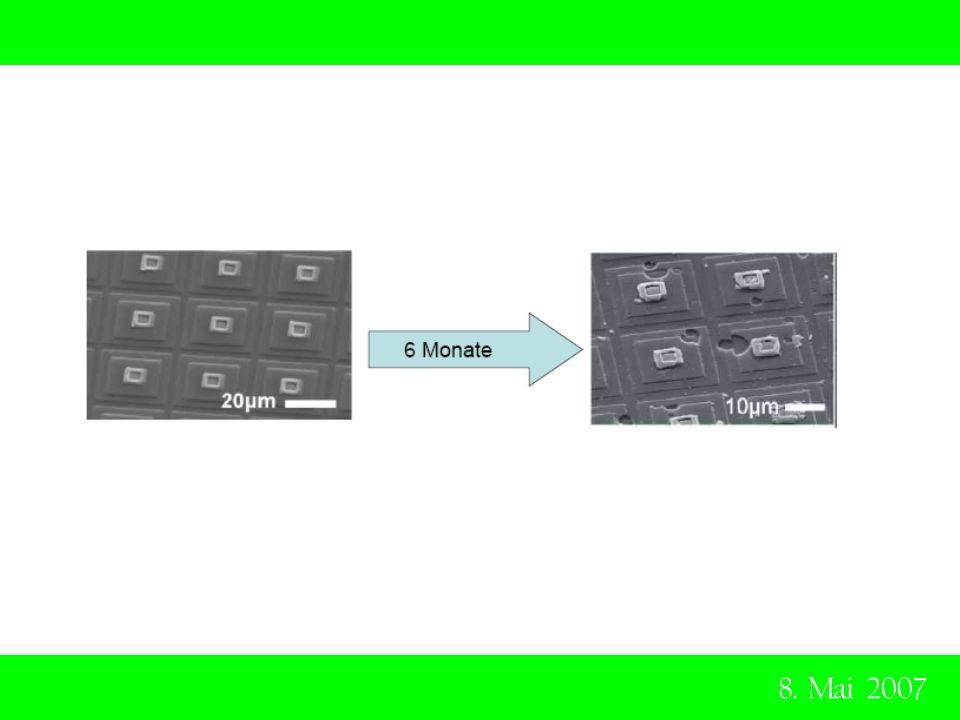 8. Mai 2007 Das Elektrodenmaterial wie auch das Siliziumoxid werden