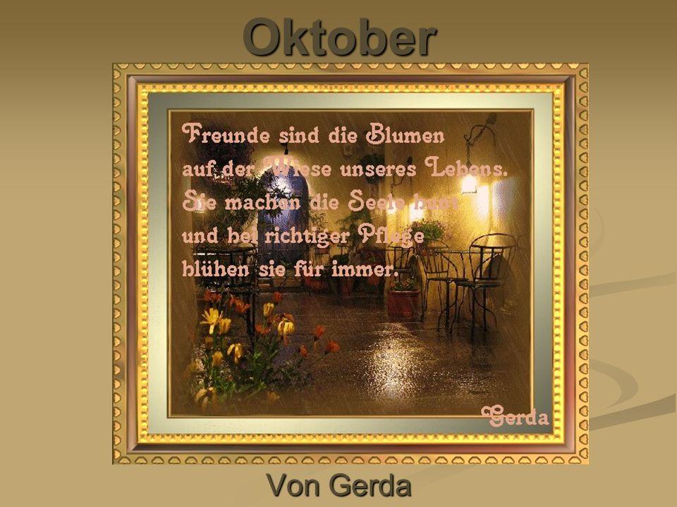 Oktober Von Gerda