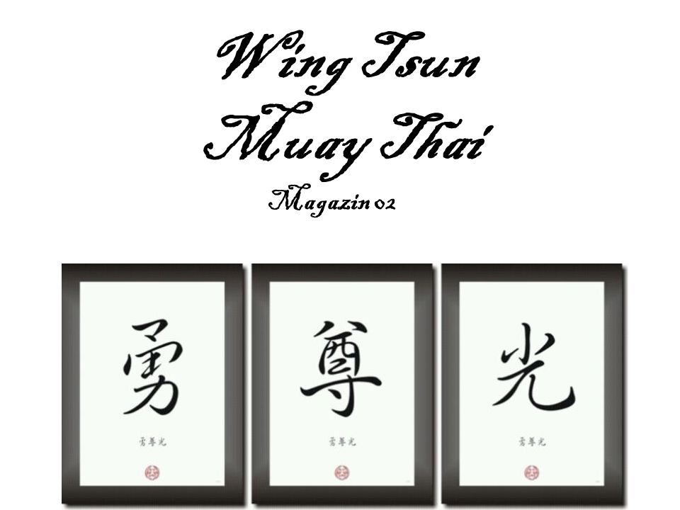 Wing Tsun Muay Thai Magazin 02
