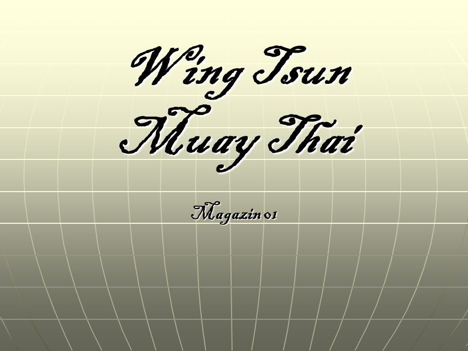 Wing Tsun Muay Thai Magazin 01