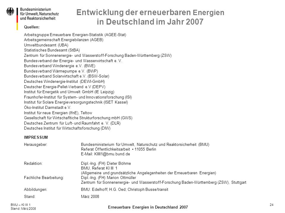 Quellen: Arbeitsgruppe Erneuerbare Energien-Statistik (AGEE-Stat) Arbeitsgemeinschaft Energiebilanzen (AGEB)