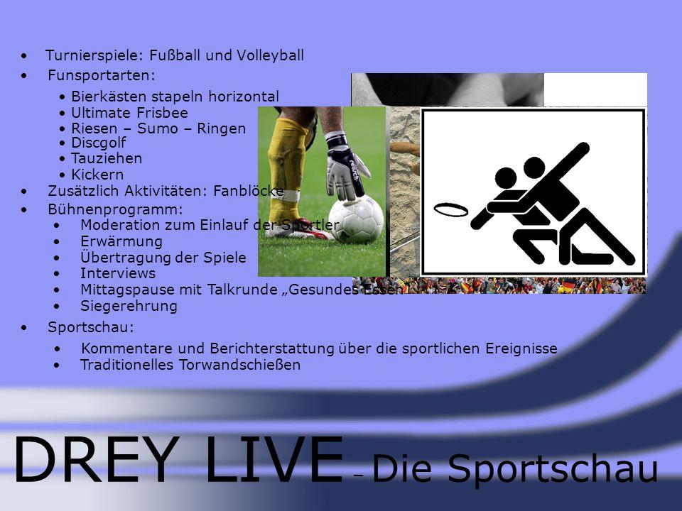 DREY LIVE – Die Sportschau