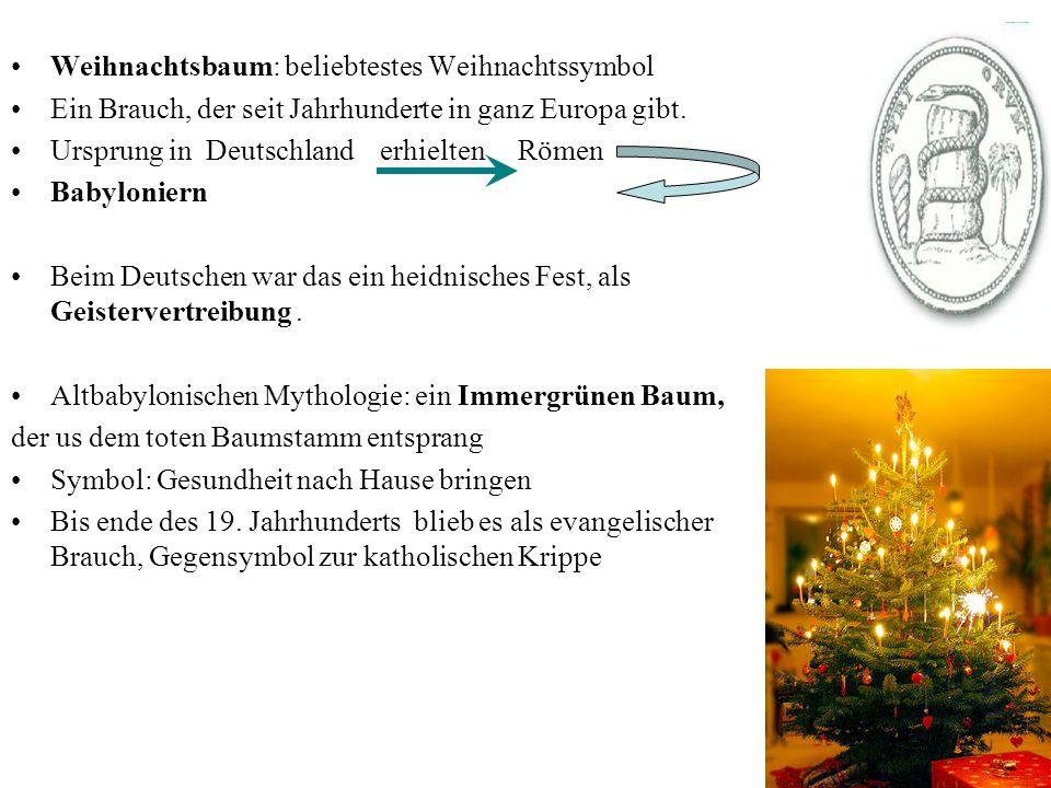 Weihnachtsbaum: beliebtestes Weihnachtssymbol