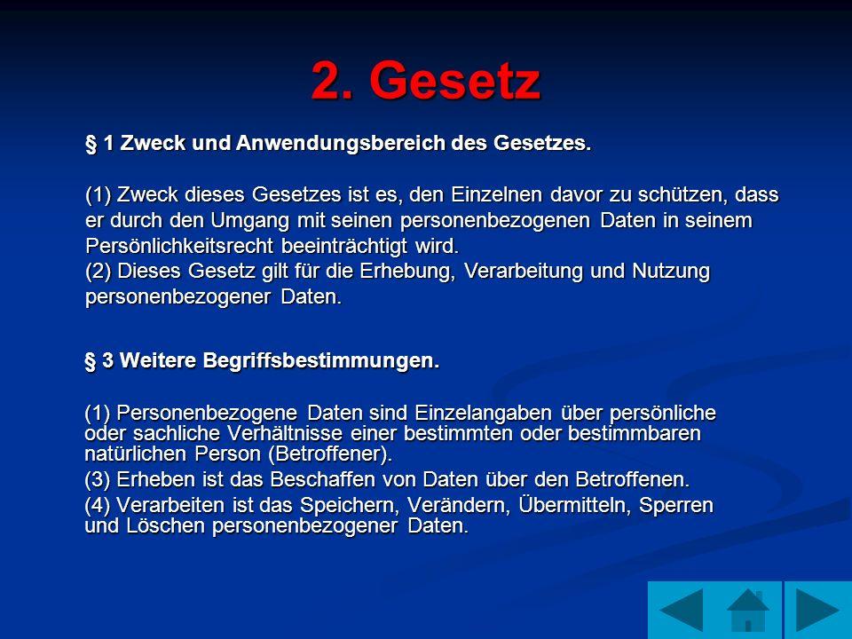 2. Gesetz § 3 Weitere Begriffsbestimmungen.