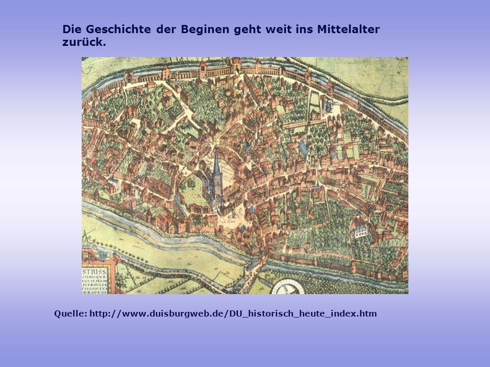 Die Geschichte der Beginen geht weit ins Mittelalter zurück.