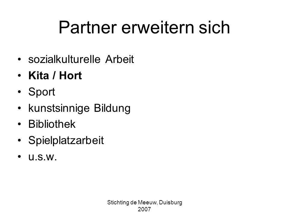 Partner erweitern sich