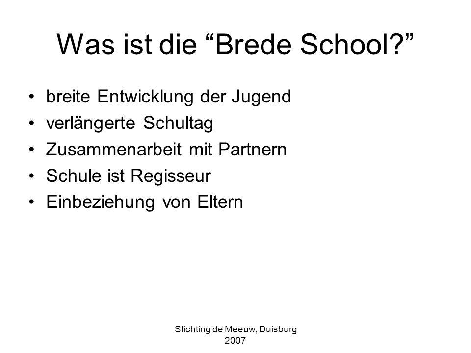 Was ist die Brede School