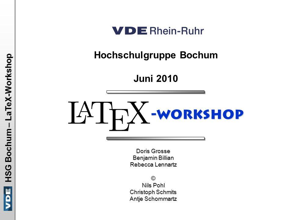 Hochschulgruppe Bochum