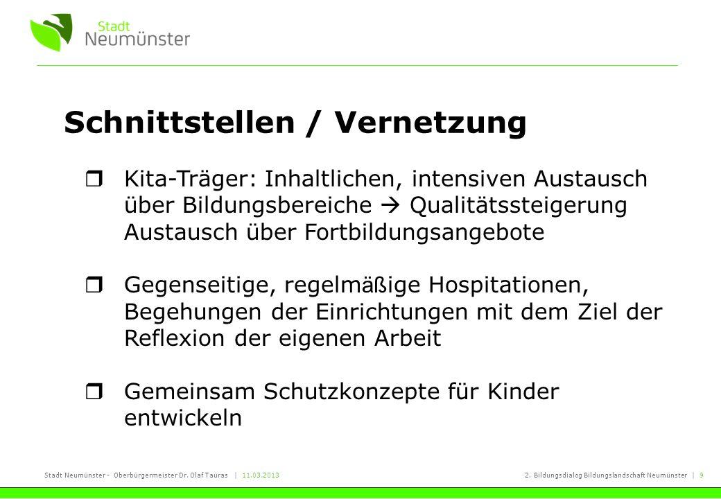 Schnittstellen / Vernetzung