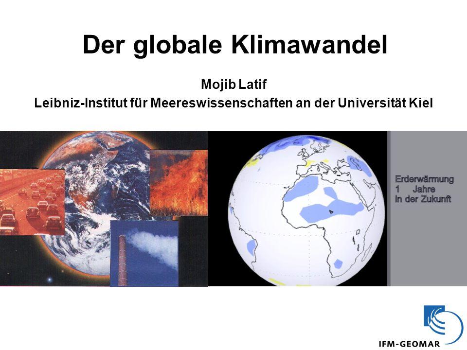 Der globale Klimawandel