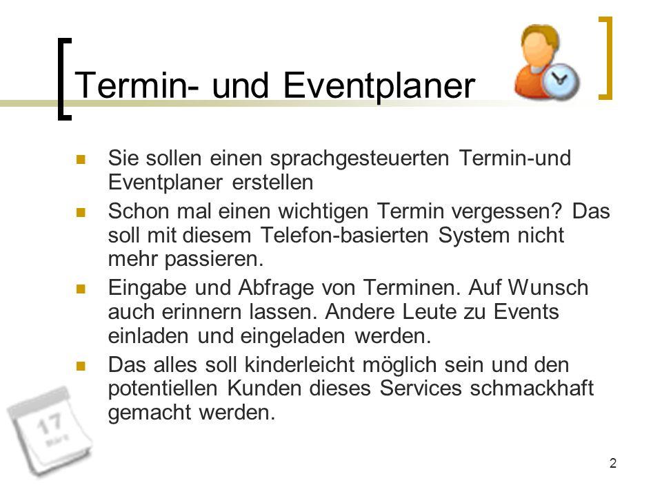 Termin- und Eventplaner
