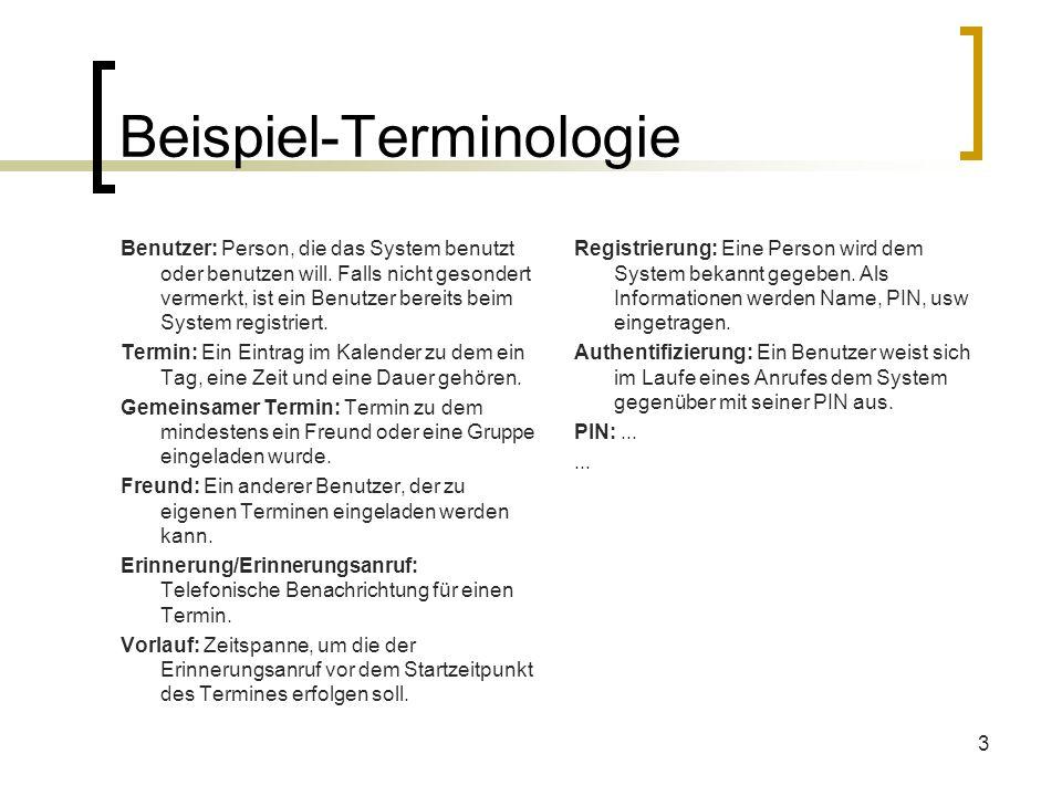 Beispiel-Terminologie