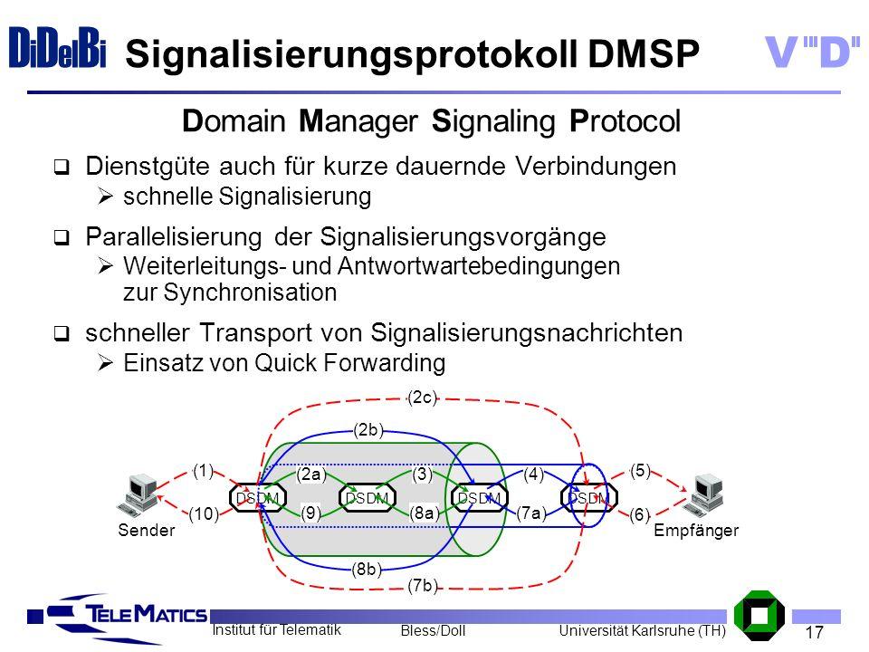Signalisierungsprotokoll DMSP
