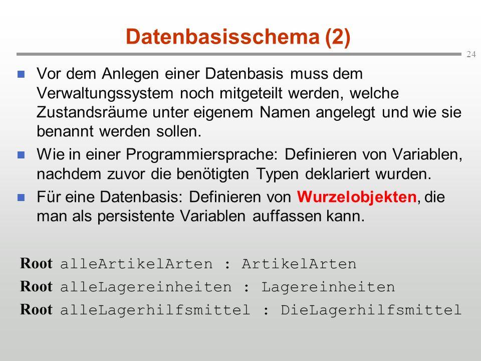 Datenbasisschema (2)