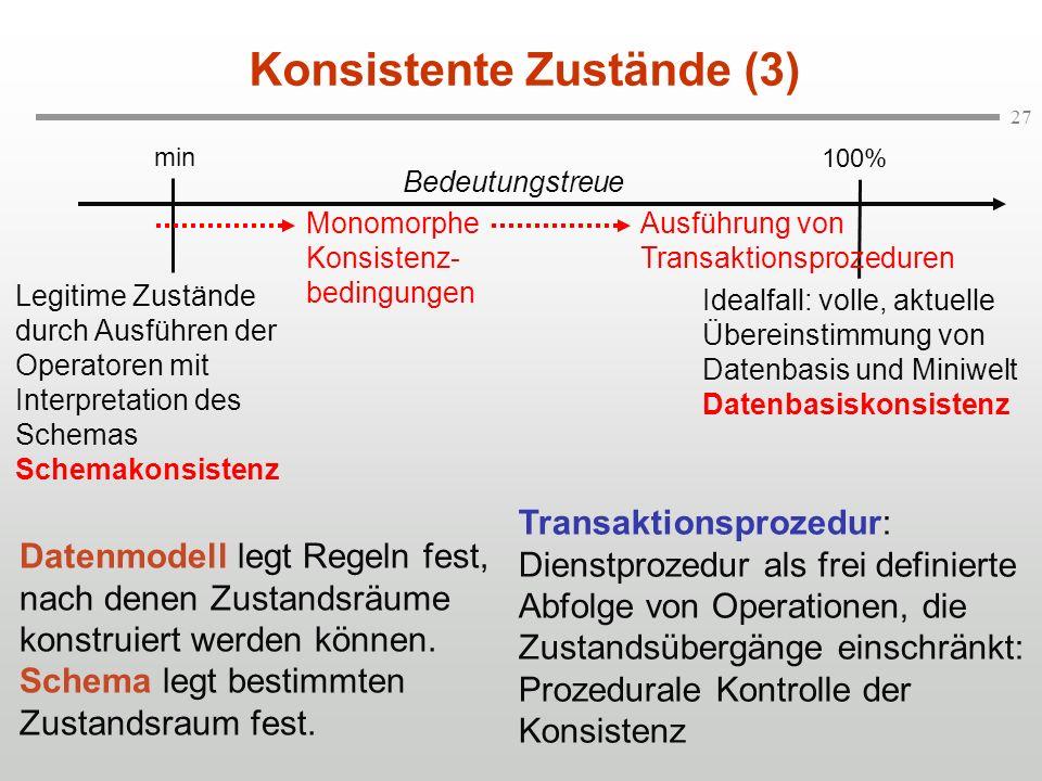 Konsistente Zustände (3)