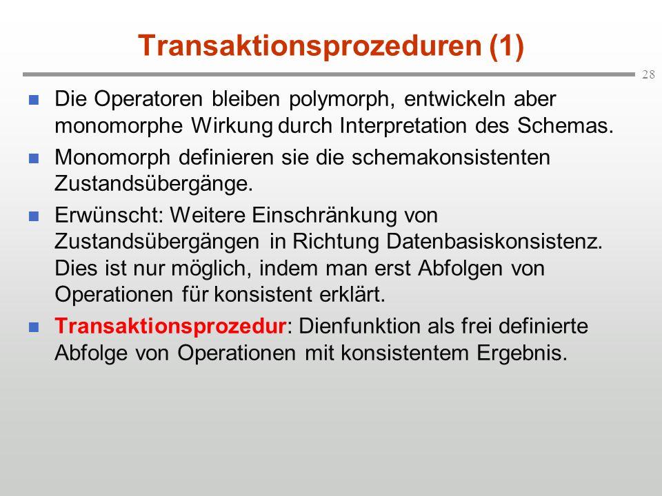 Transaktionsprozeduren (1)
