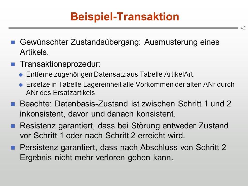 Beispiel-Transaktion