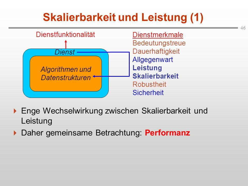 Skalierbarkeit und Leistung (1)