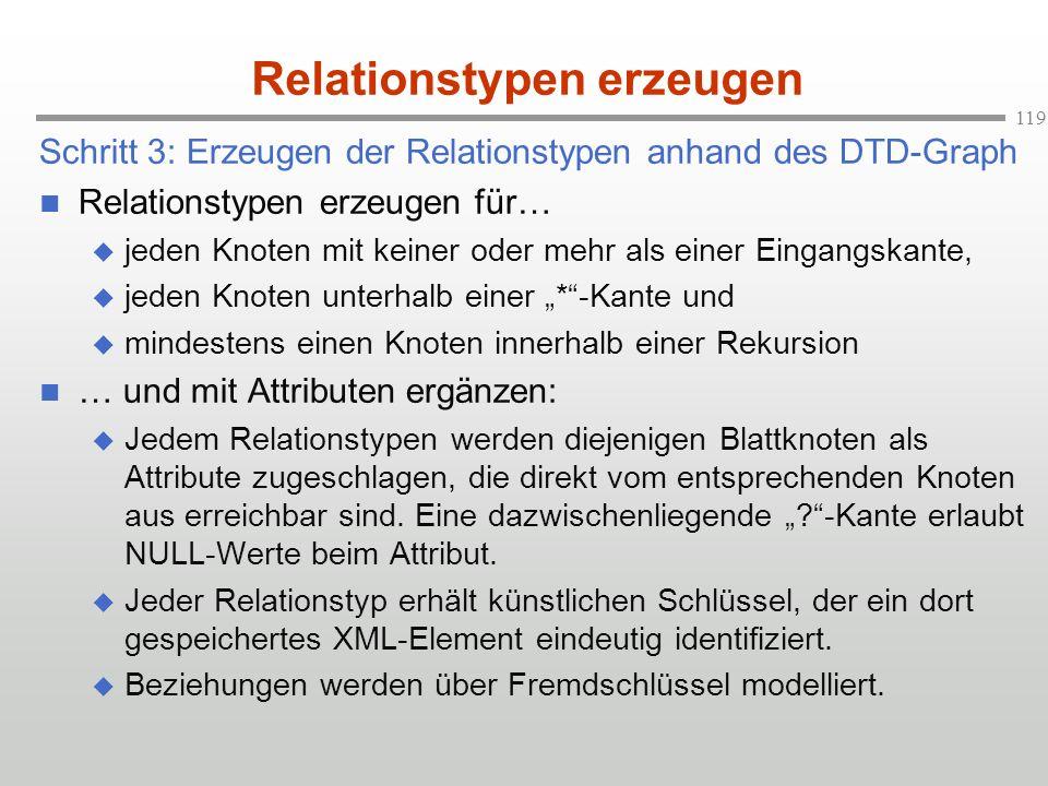 Relationstypen erzeugen