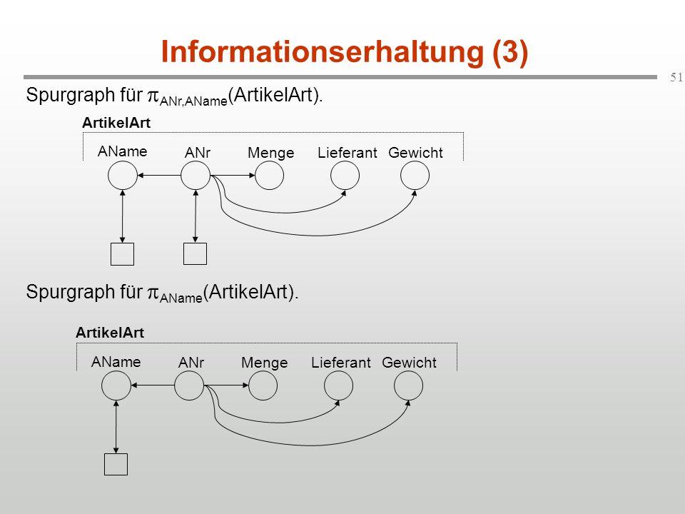 Informationserhaltung (3)